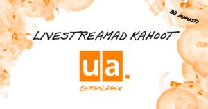 Livestreamad kahoot med UA Bergslagen @ Kahoot