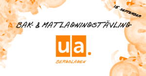 Bak- och matlagningstävling med UA Bergslagen!